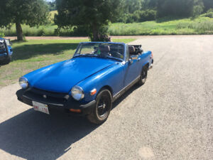1977 midget  Toyota. Mr2 power train