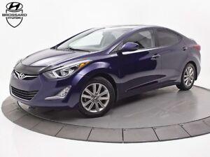 2014 Hyundai Elantra GLS A/C TOIT OUVRANT BLUETOOTH MAGS FOGS