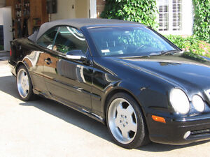 2003 Mercedes-Benz CLK430 Convertible