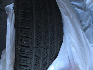 4 Continental 4 Seasons tires 215/70 R16""