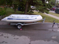 Grand S330 Hard Bottom Inflatable(RIB) with Aluminum Trailer