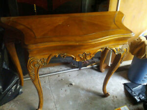 Large French Style Hall Table