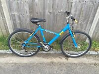 Peugeot Exo Mountain bike, Serviced, Free Lock/Lights/Delivery