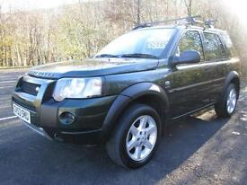04/54 LAND ROVER FREELANDER 2.5 V6 HSE AUTOMATIC 5DR 4X4 IN MET GREEN