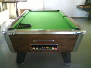 4X8 COMMERCIAL COIN OP POOL TABLE BY VALLEY