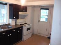 4½ Apartment clean, (HALF Basement) , on BLVD PIE IX
