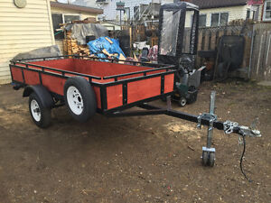 New! Home Built Utility Trailer