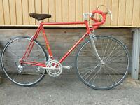 vélo de route bianchi 58 cm vintage mise au point