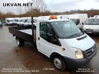 2010 60 FORD TRANSIT LWB, 14FT EXTENDED FRAME, DROPSIDE, PICK UP, CHASSIS CAB,