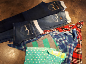 Girls Size 12 Justice jeans LOT