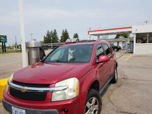2006 Chevrolet Equinox LS SUV red color