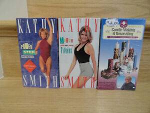Kathy Smith's VHS  Workout Tapes Cambridge Kitchener Area image 1