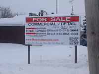 Commercial Real Estate Signage