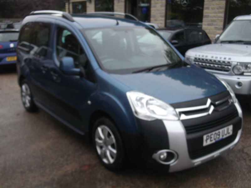 2009 09 citroen berlingo 1 6hdi 90hp multispace xtr 1 owner fsh in sheffield south yorkshire. Black Bedroom Furniture Sets. Home Design Ideas