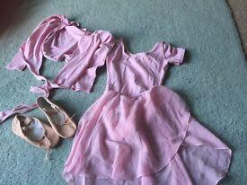 Official proper ballet uniform