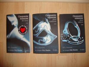 Trilogie Cinquante nuances de Grey $20.00
