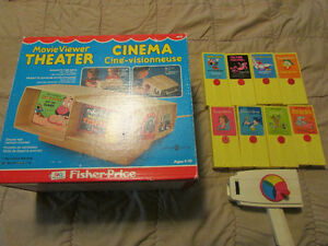 fisher price Movie Viewer Theater,8 discs and hand viewer London Ontario image 3