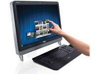 """inspiron all in one touch screen 23"""" super hd duo  2.70 ghz"""