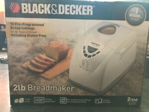 Black & Decker 2 lb Breadmaker