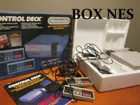 NES Nintendo System with Box