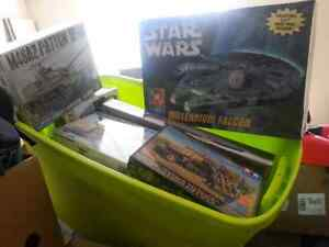 Plastic Model Kits Sealed New Some Rare/Old
