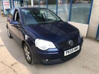 Volkswagen Polo 1.2 ( 60ps ) Match 5 DOOR - 2009 59-REG - 7 MONTHS MOT