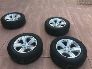 All seasons tires for ram 1500 with dodge alloy wheels