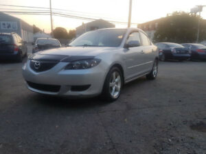 WEEKEND SPECIAL : 2006 Mazda 3 w/ NEW MVI, OIL CHANGE & UNDERCOA