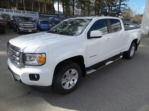 2016 GMC Canyon 4WD SLE Crew Cab, local one owner