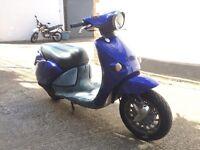 2000 Aprilia Habana 50cc learner legal 50 cc scooter. MOT.