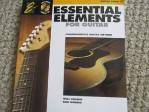 Learning guitar - Essential Elements for Guitar with CD