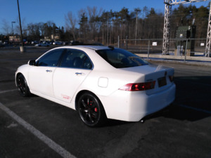 Acura TSX with safety