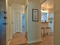 31/2 condo for rent, off of St-Charles