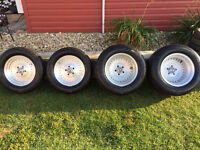 Vintage Classic real Centerline aluminum wheels and tires
