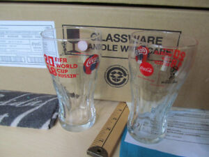 verre glasses coke coca-cola world cup coupe du monde russie