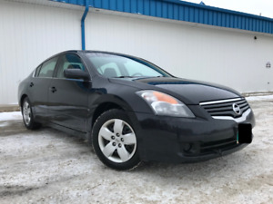 2007 Nissan Altima 2.5S, 6 Speed Manual