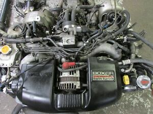 JDM Subaru Legacy BH5 EJ20 Twin Turbo Engine 5Speed Transmission