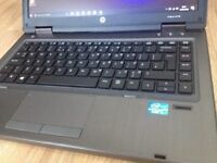 CAN DELIVER high specs fast working laptop HP PROBOOK core i5 with warranty, Windows 10 Pro, Office