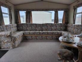 2 bedroom 6 berth static caravan for sale in Kent next to the beach!