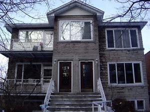 LovelyUpper 7 1/2 RM apt, 4 Br+2 BthRms, duplex, heat, garage