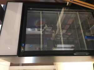 Commercial display fridge for sale.