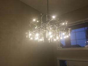 Various Chandeliers and ceiling lights