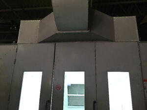 Spray Booth for Rent