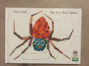THE VERY BUSY SPIDER and THE VERY HUNGRY CATERPILLAR