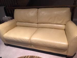 Natuzzi Leather Sofa - Gently Used!