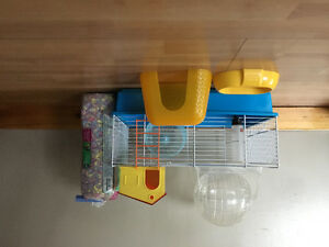 ***HAMSTER CAGE AND ACCESSORIES***