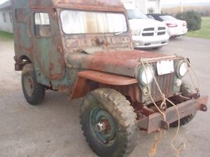 1952 M38 Jeep for parts