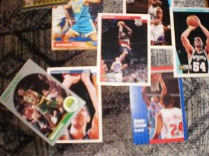 BASKETBALL CARDS FROM 1990'S APPROXIMATELY 35 cards for $15 Prince George British Columbia image 6