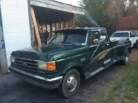 1990 Ford F-350 diesel roue double250km