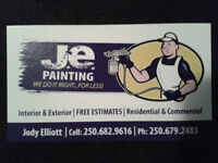 Journeyman Painter for Hire